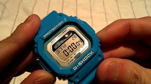 light blue g shock watch casio g shock watch review model glx5600 2 light blue surfer s