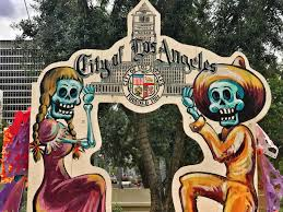 day of the dead in the city of the order of the
