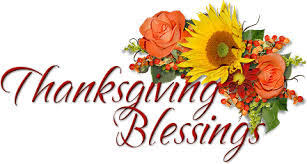 my favorite things words of thanksgiving