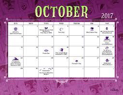 disney desk calendar 2017 october 2017 printable calendar disney family