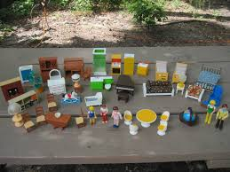 Fisher Price Doll House Furniture Vintage 1973 Fisher Price Dollhouse Furniture 35plus Pcs 5 People