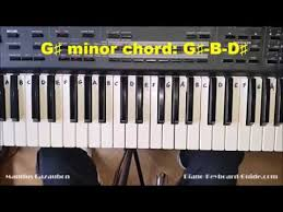 keyboard chords tutorial for beginners g sharp minor chord mp3 free songs download india hits music