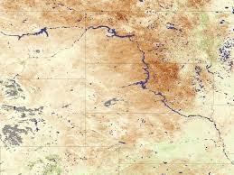 Great Plains Map Drought On The Great Plains Image Of The Day