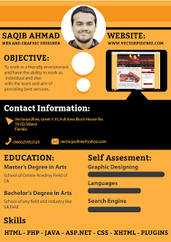 Resume Website Template Free Free Cv Template For Graphic And Web Designers By Saqib Ahmad Via
