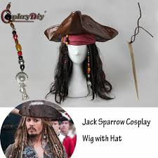 sparrow hair of the caribbean 5 headwear captain sparrow