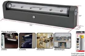 led under cabinet lighting battery battery operated wireless under cabinet led light