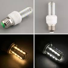 2017 new 3w efficient u shaped led corn light energy saving a