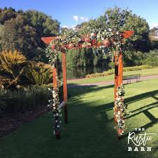wedding arches hire adelaide wedding hire the rustic barn