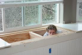 Making A Bay Window Seat - interior architecture designs window seat storage bench diy bay