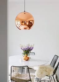 Tom Dixon Copper Pendant Light Retail Therapy Tom Dixon Dupe The Pursuit Of Style