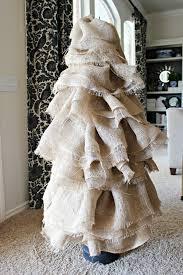 burlap christmas diy burlap christmas tree tutorial dimples and tangles