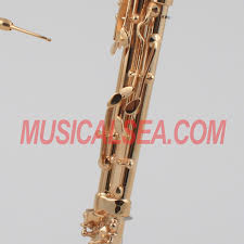 miniature brass replica bassoon model for decorative miniature