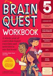 brain quest workbook grade 5 workman publishing