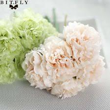 Fake Peonies Silk Peonies Wedding Bouquets Ebay