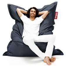 pouf style fatboy enjoy the great outdoors with the original outdoor bean bag