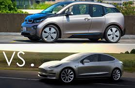 head to head tesla model 3 vs bmw i3 u s news u0026 world report