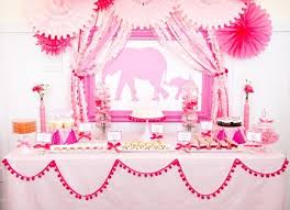 Elephant Decorations For Baby Shower Pink Elephants Baby Shower Theme 7 Adorable Baby Shower U2026