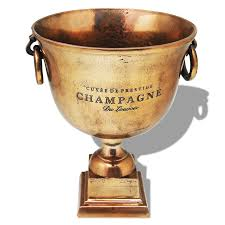 vidaxl trophy cup champagne cooler copper brown vidaxl com