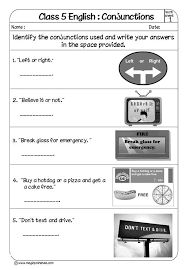 conjunction for kids conjunction examples conjunctions worksheets