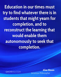 education quote fire allan bloom education quotes quotehd