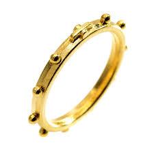 catholic rosary ring prayer rings online sales on holyart