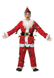 Halloween Light Up Costumes Christmas Vacation Santa Costume