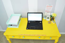 Yellow Desk Organizer My Messy Desk Dilemma A Revamped Diy Desk Organizer Loving Here