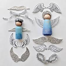 diy peg doll ornament ornament and dolls