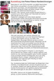 Gemeinde Bad Endorf Ausstellung Blickwinkel Rathaus Wasserburg 2017