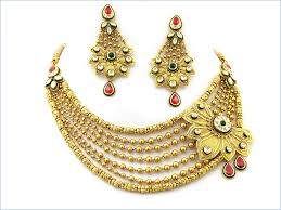 new gold set awesome indian bridal jewelry set designs 2016 2 fashion
