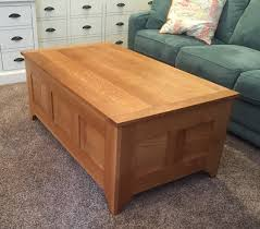 Coffee Tables Chest Quarter Sawn White Oak Coffee Table Chest