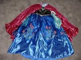 Princess Anna Halloween Costume Disney Store Princess Anna Halloween Costume Dress Frozen