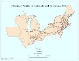 Railroad Map Usa by Railroads And The Making Of Modern America Views