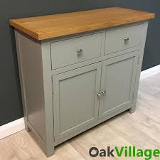 greymore painted oak small sideboard oak village