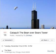 chicago map meme catapult the bean sears tower chicago bean events