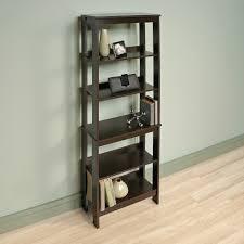 Sauder Beginnings 3 Shelf Bookcase sauder beginnings 5 shelf bookcase cinnamon cherry finish