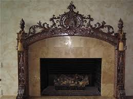gas log fireplace mantel u2014 new decoration custom rustic log