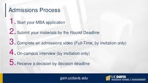 uc davis mba application tips