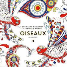 Marabout  Le petit livre du coloriage oiseaux  pas cher Achat
