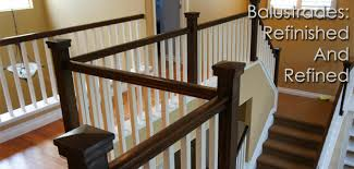 Stairway Banisters And Railings Balustrade U0026 Handrail Refinishing Denver Co Interior Painters