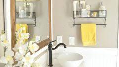 wonderful gray and yellow bathrooms that delight bathroom2 gray