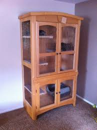 cat cage a wardrobe refurbished for a cat cage for sale denver