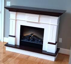 fireplace mantel shelf plans surround wood interior design ideas
