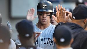 Aaron Judge Breaks Joe Dimaggio S Yankees Rookie Home Run Record - aaron judge new york yankees rookie is changing baseball rolling