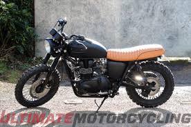 triumph motocross bike 10 steps to create your own beckham triumph scrambler