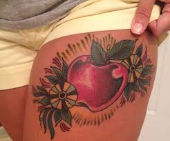 apple tattoos and designs page 5