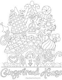 printable gingerbread house colouring page printable gingerbread house coloring page coloring pages printable