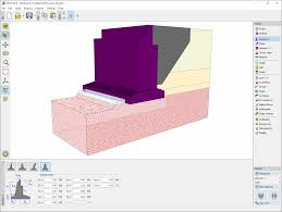 abutment geotechnical software geo5 fine