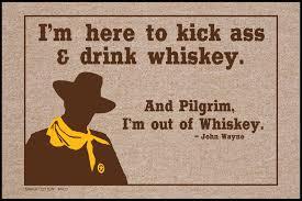 kick and drink whiskey doormat funny doormats u2013 high cotton inc