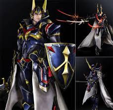 Warrior Of Light Estarland Com Buy Ff Variant Play Arts Kai Warrior Of Light Af